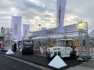 Presentación de los equipos de Ground Handling en la Feria Inter Airport Europe de Munich 2019