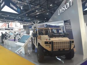 Presentación Vehículo Ligero de Baja Probabilidad de Interceptación en la Feria DSEI de Londres 2019