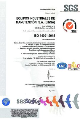 ISO 14001_2015 – ES hasta 2023